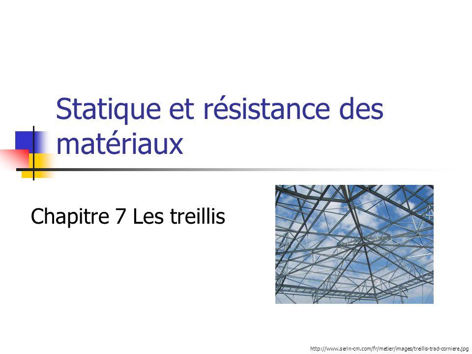 Statique et résistance des matériaux