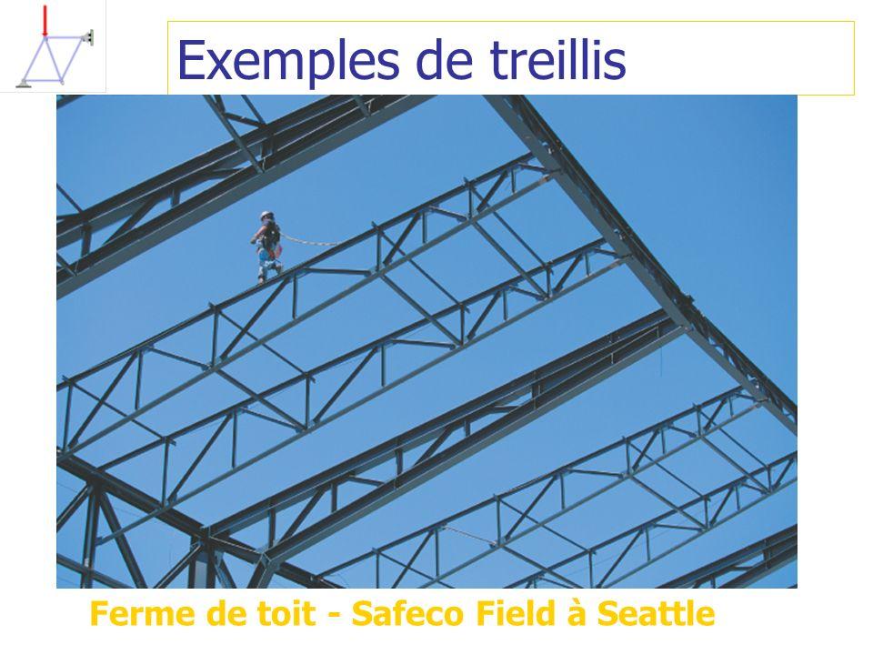 Exemples de treillis Ferme de toit - Safeco Field à Seattle