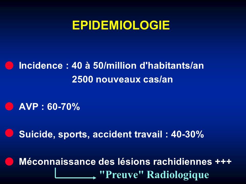EPIDEMIOLOGIE Preuve Radiologique