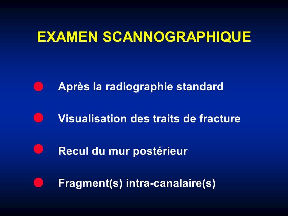 EXAMEN SCANNOGRAPHIQUE