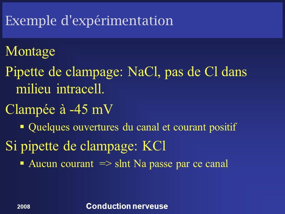 Exemple d expérimentation