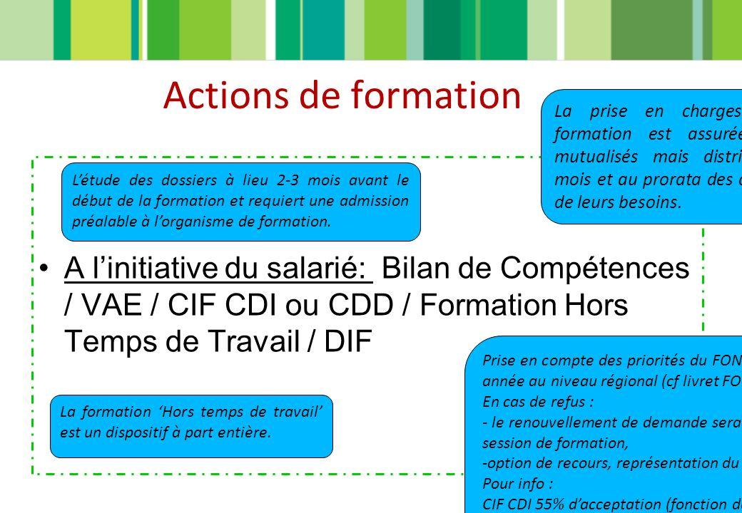 ACTION INNOVANTE CIF CDD