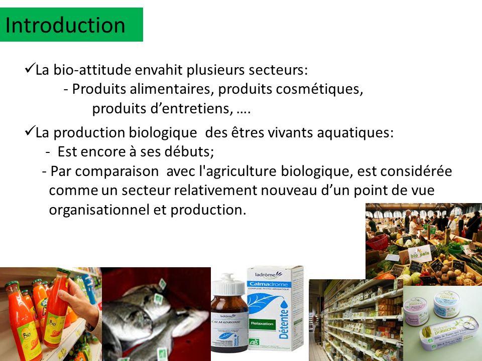 Introduction La bio-attitude envahit plusieurs secteurs: