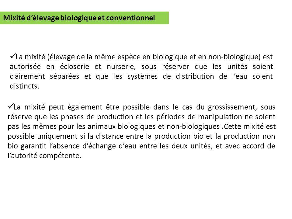 Mixité d'élevage biologique et conventionnel
