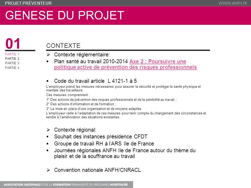 01 genese du projet Contexte Contexte réglementaire: