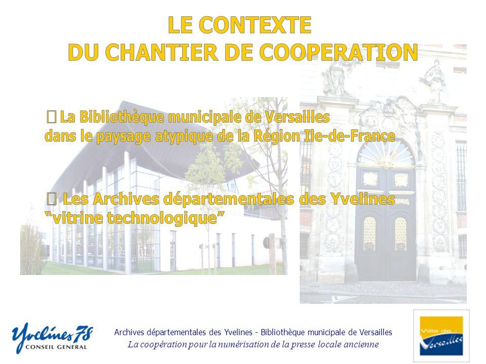 DU CHANTIER DE COOPERATION