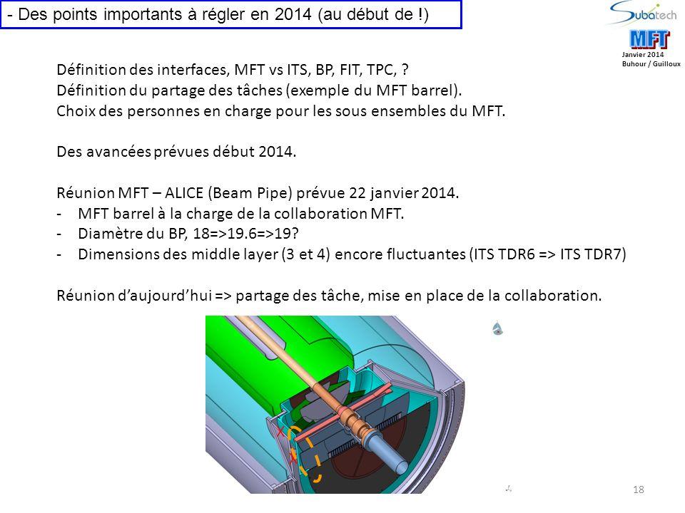 MFT MFT Des points importants à régler en 2014 (au début de !)