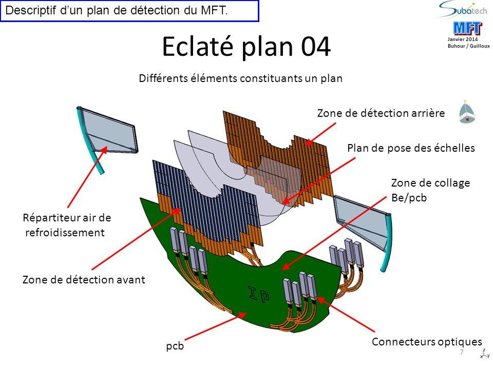 Eclaté plan 04 MFT MFT Descriptif d'un plan de détection du MFT.