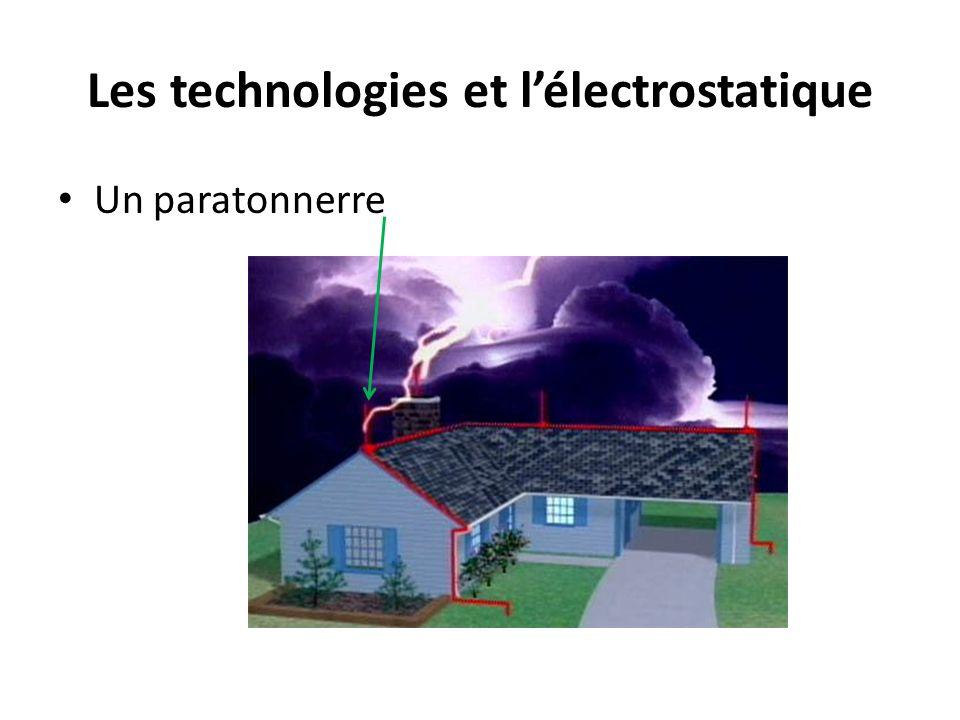 Les technologies et l'électrostatique