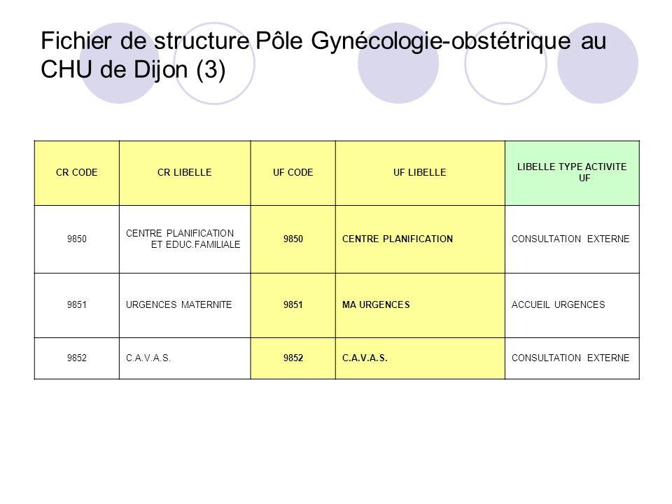 Fichier de structure Pôle Gynécologie-obstétrique au CHU de Dijon (3)