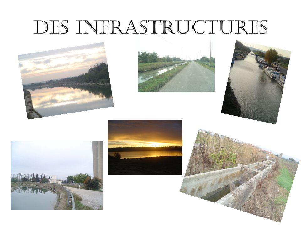 Des infrastructures