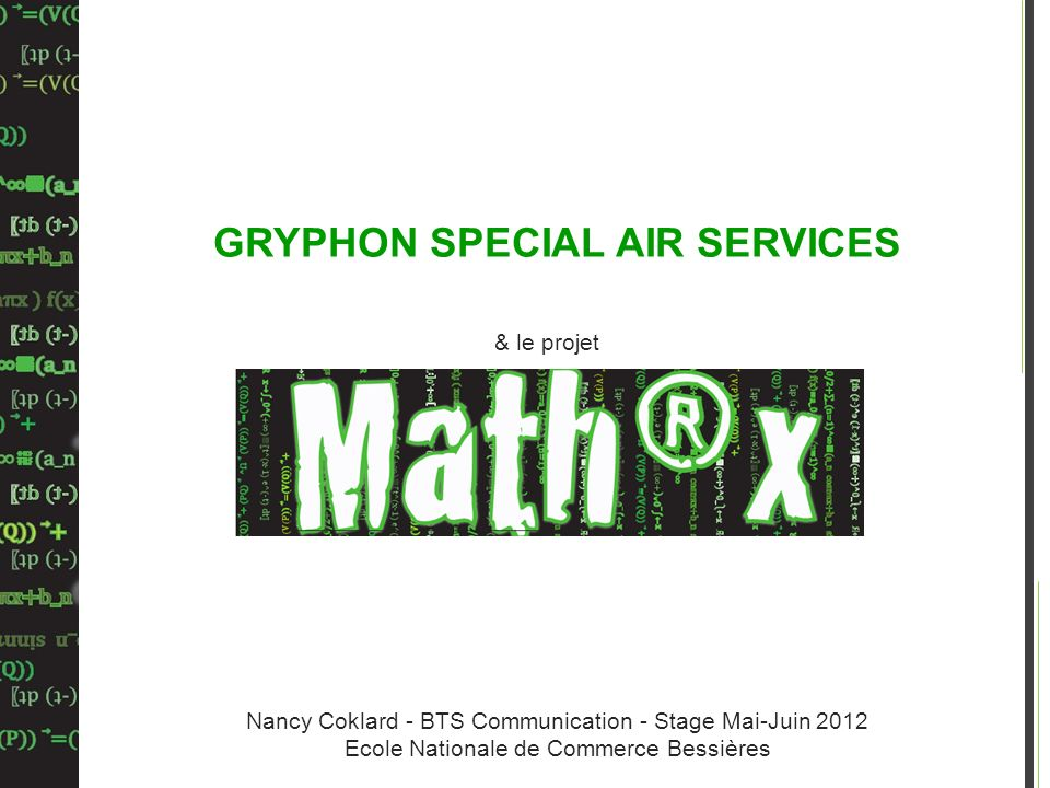 GRYPHON SPECIAL AIR SERVICES