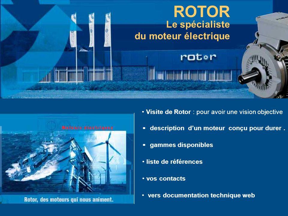 ROTOR Le spécialiste du moteur électrique