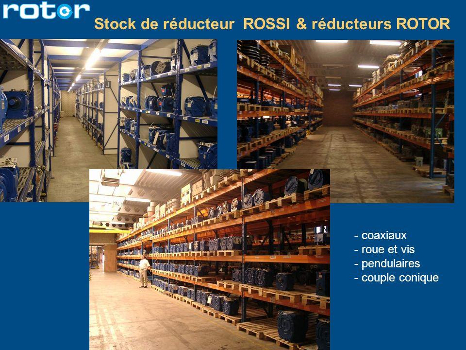 Stock de réducteur ROSSI & réducteurs ROTOR