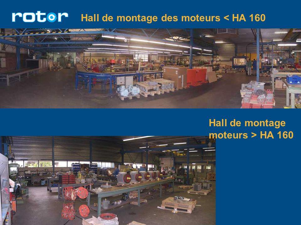 Hall de montage des moteurs < HA 160