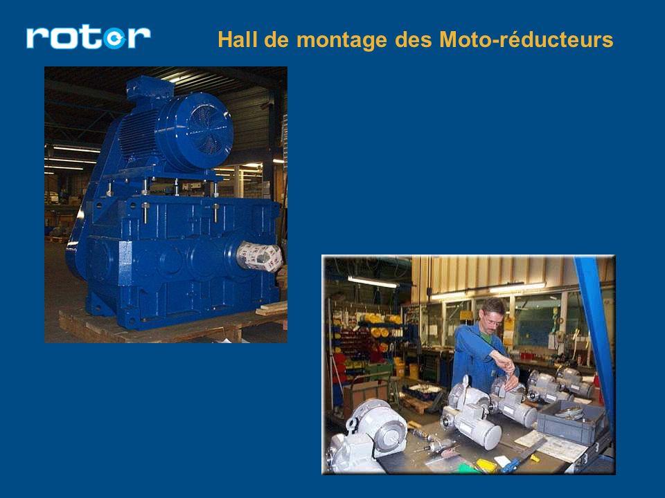 Hall de montage des Moto-réducteurs