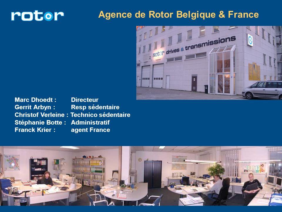 Agence de Rotor Belgique & France