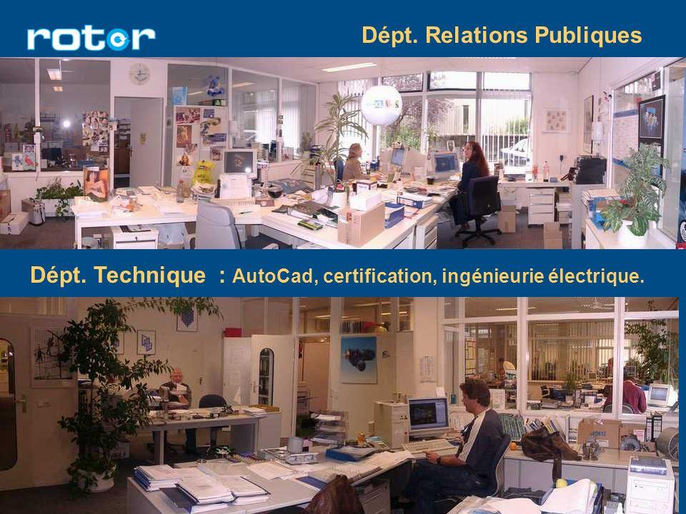 Dépt. Relations Publiques