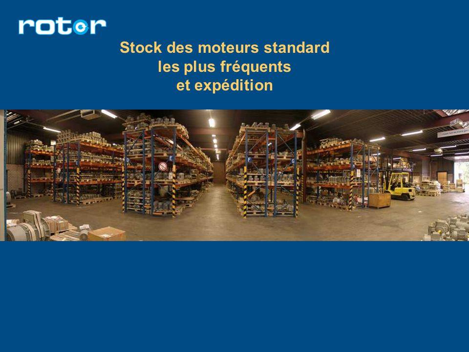 Stock des moteurs standard