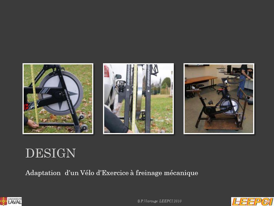 DEsign Adaptation d'un Vélo d'Exercice à freinage mécanique
