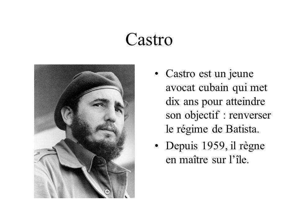 Castro Castro est un jeune avocat cubain qui met dix ans pour atteindre son objectif : renverser le régime de Batista.