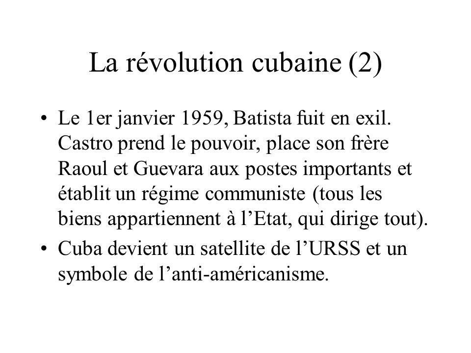 La révolution cubaine (2)