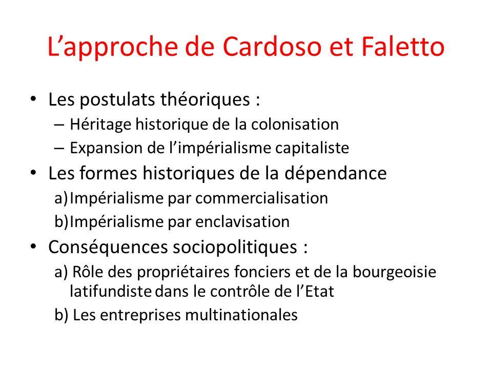 L'approche de Cardoso et Faletto