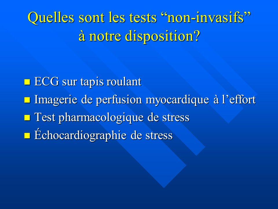 Quelles sont les tests non-invasifs à notre disposition