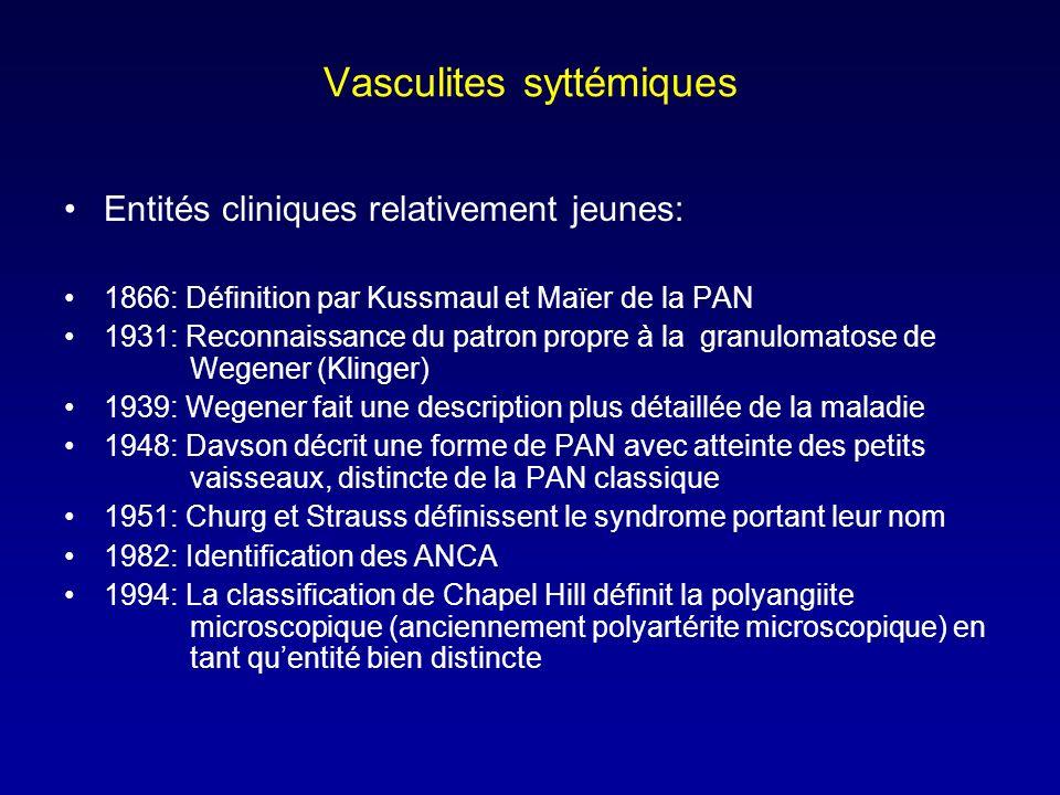 Vasculites syttémiques