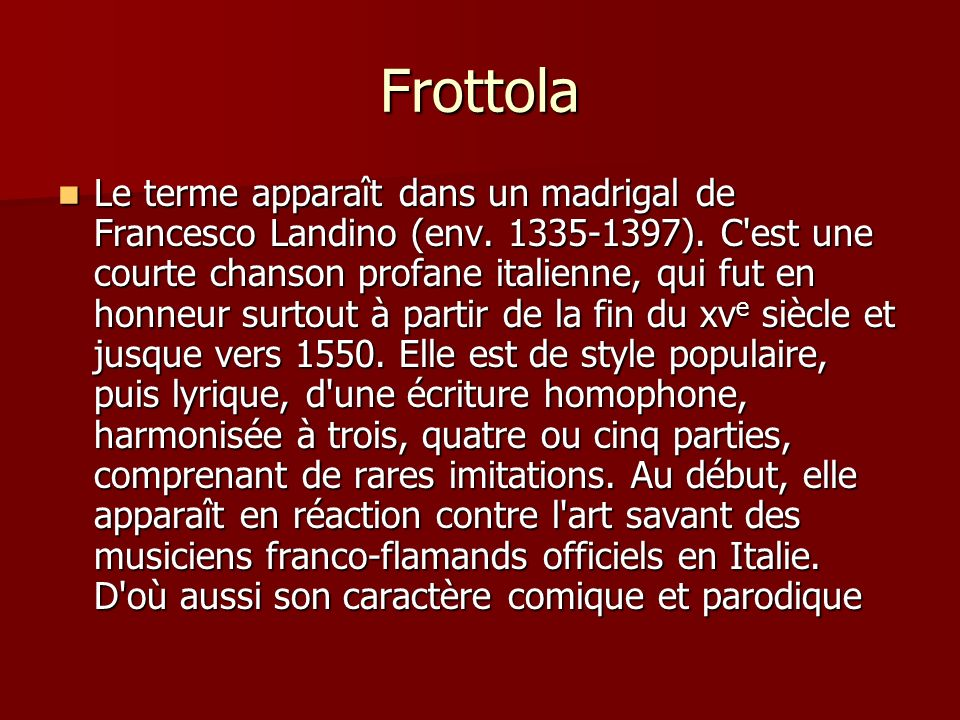 Frottola