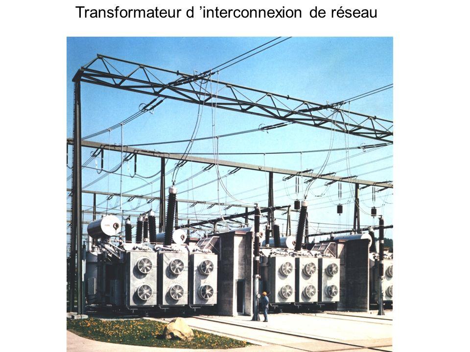 Transformateur d 'interconnexion de réseau