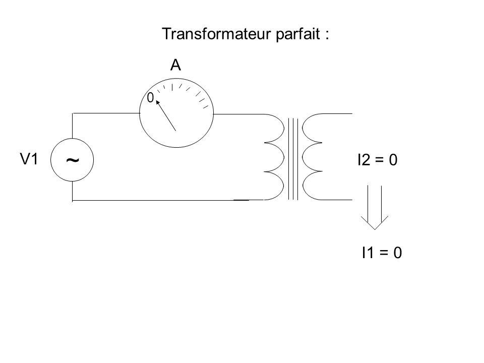 Transformateur parfait :