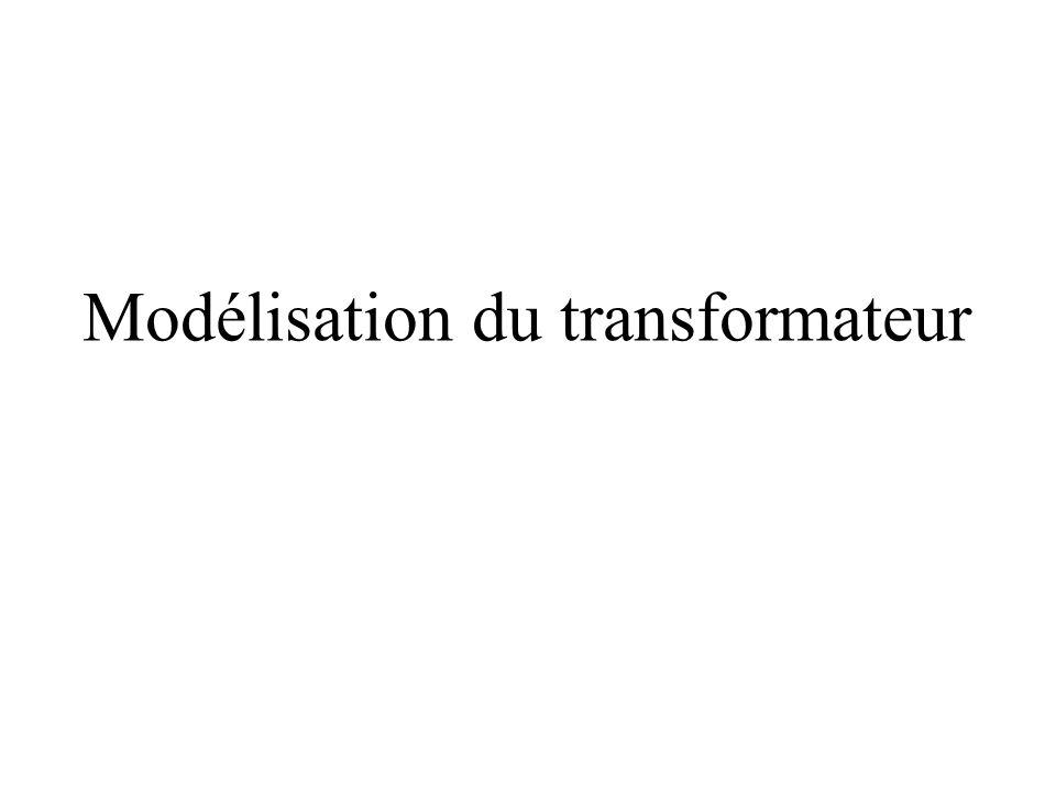 Modélisation du transformateur