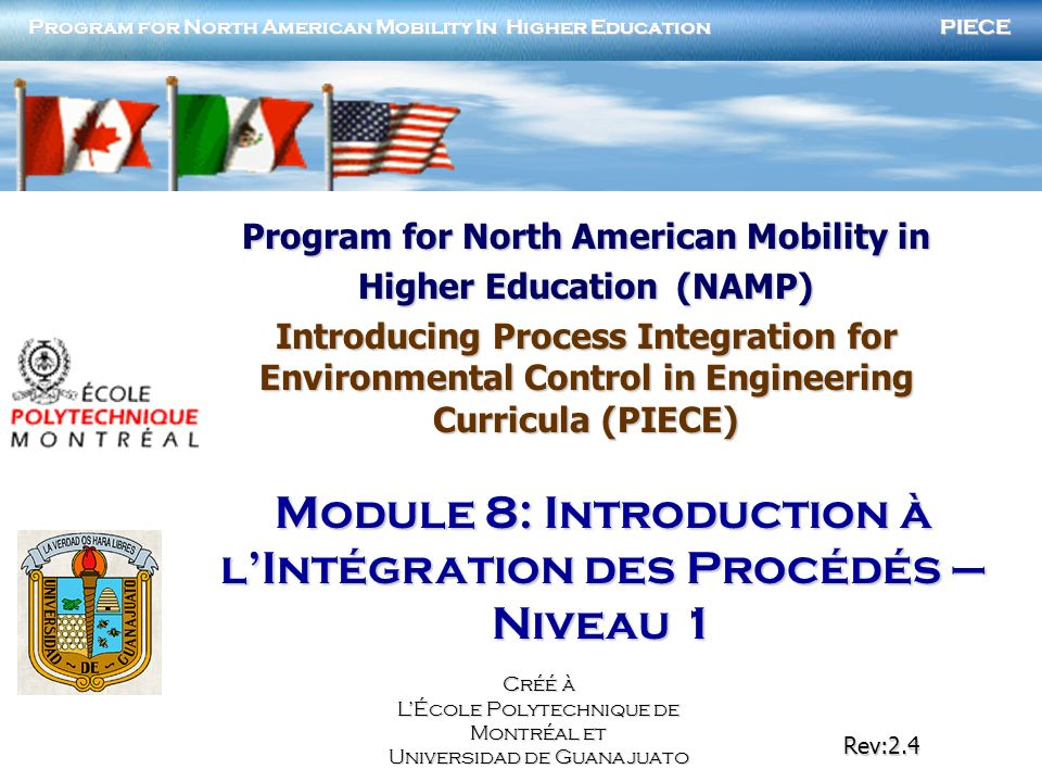 Program for North American Mobility in