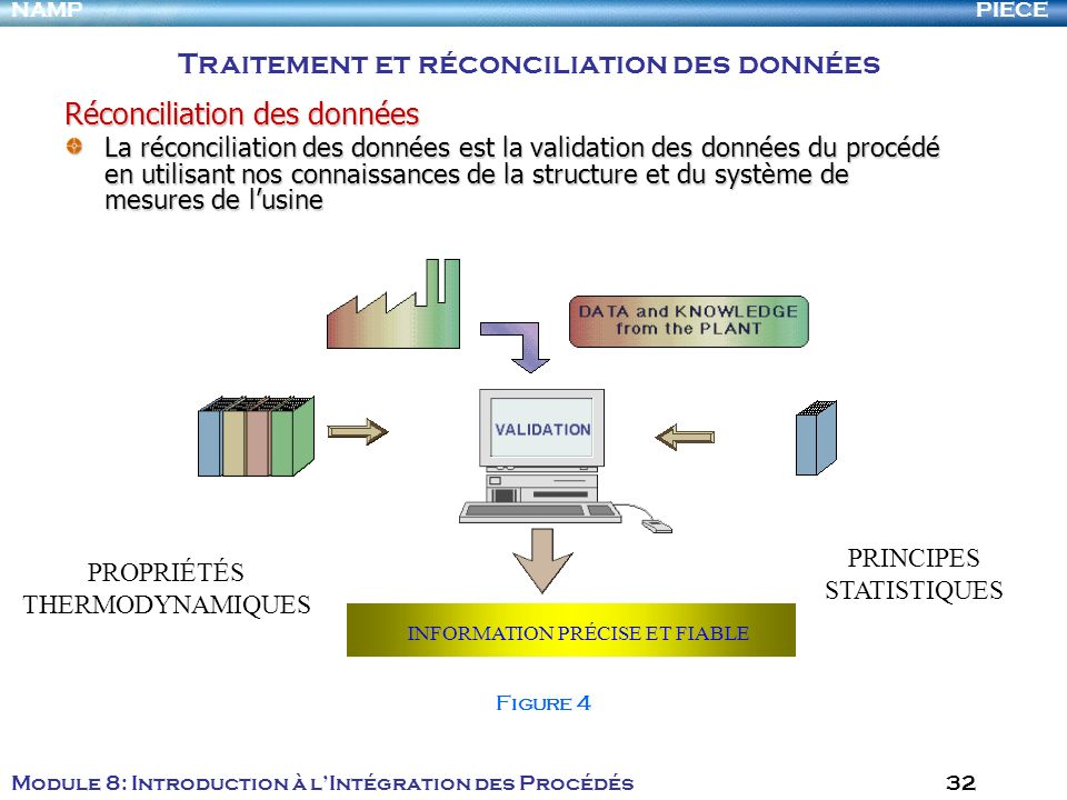 Traitement et réconciliation des données