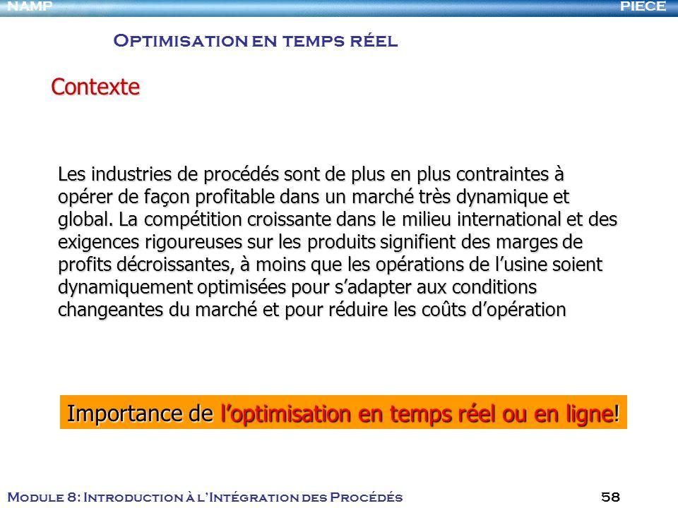 Importance de l'optimisation en temps réel ou en ligne!