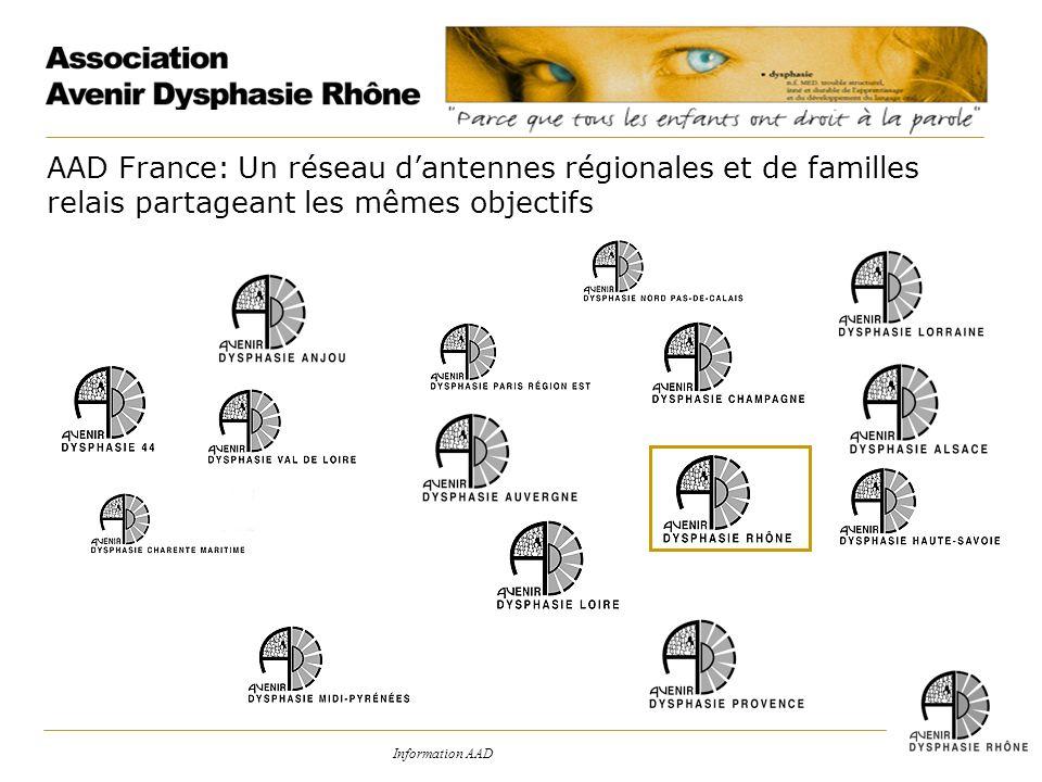 AAD France: Un réseau d'antennes régionales et de familles relais partageant les mêmes objectifs