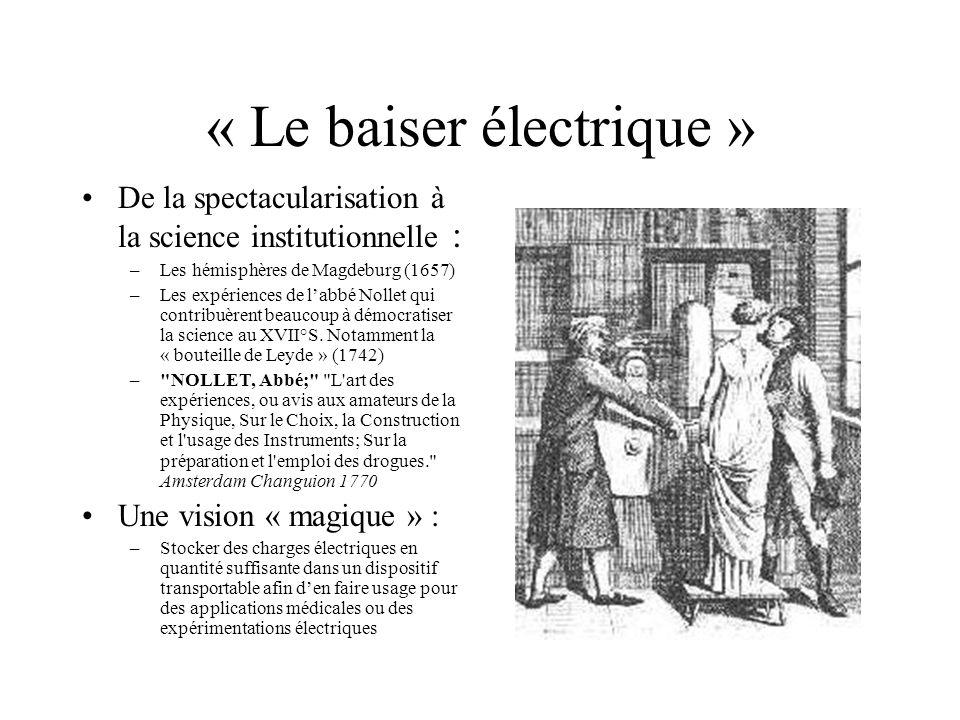 « Le baiser électrique »