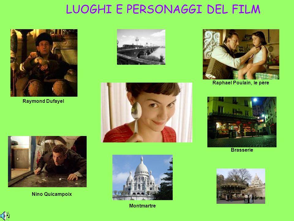 LUOGHI E PERSONAGGI DEL FILM