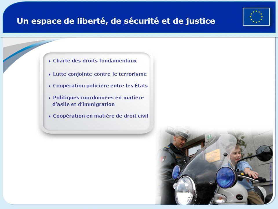 Un espace de liberté, de sécurité et de justice