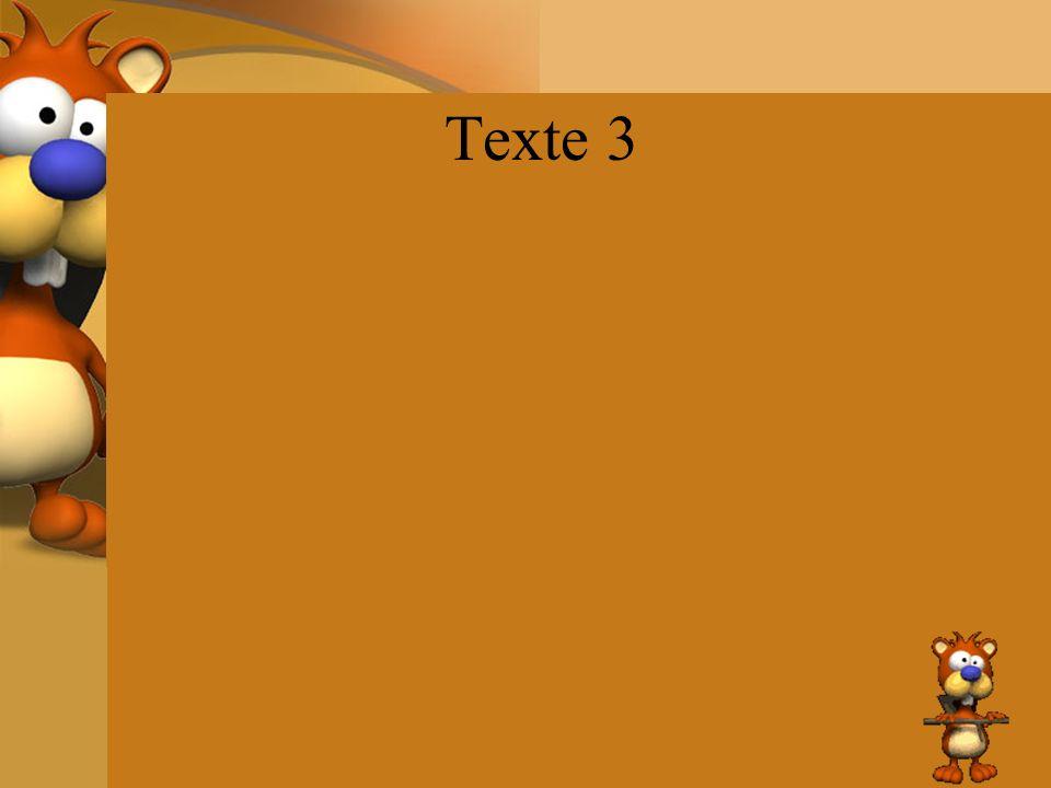 Texte 3