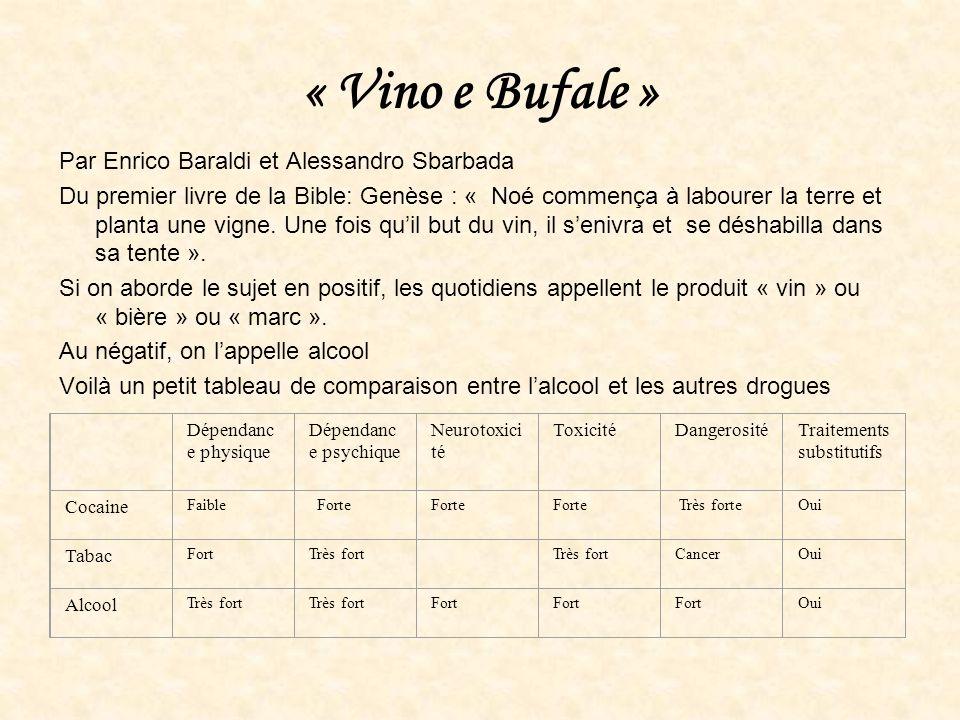 « Vino e Bufale » Par Enrico Baraldi et Alessandro Sbarbada