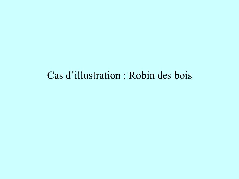 Cas d'illustration : Robin des bois