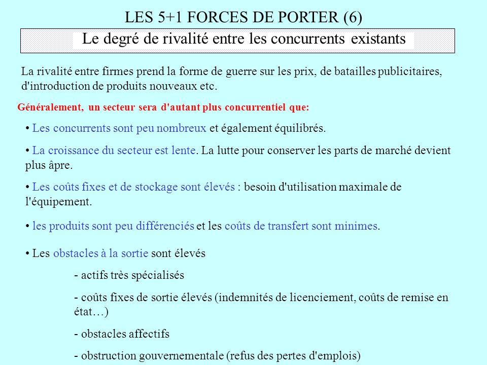 LES 5+1 FORCES DE PORTER (6)