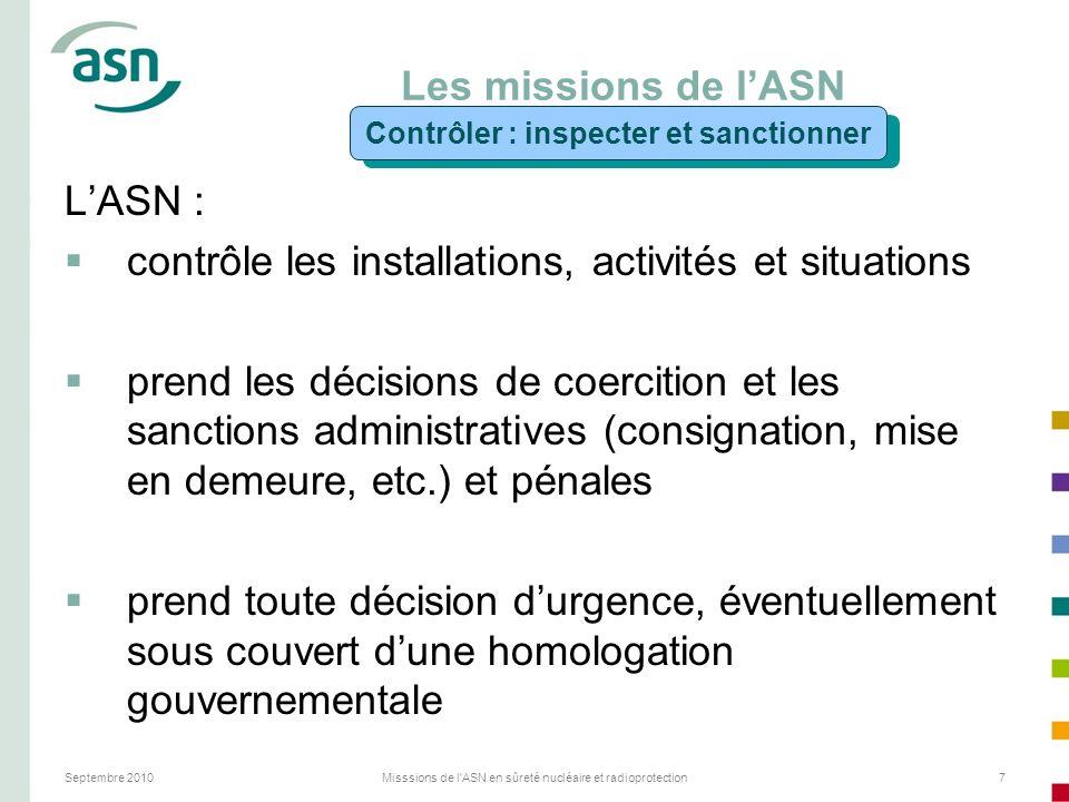 Contrôler : inspecter et sanctionner