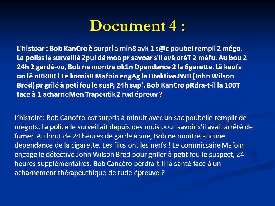 Document 4 :