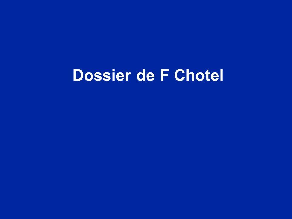 Dossier de F Chotel