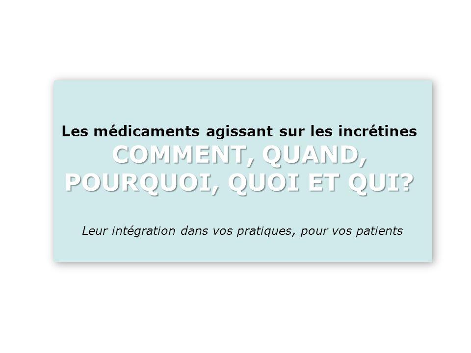 Leur intégration dans vos pratiques, pour vos patients