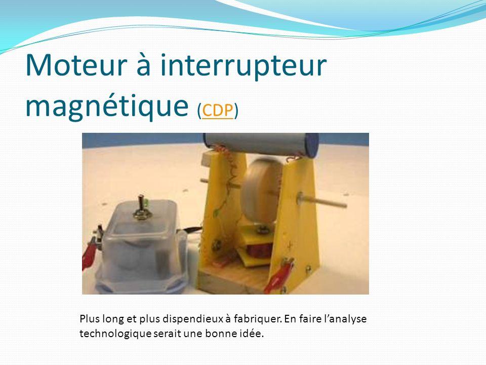 Moteur à interrupteur magnétique (CDP)