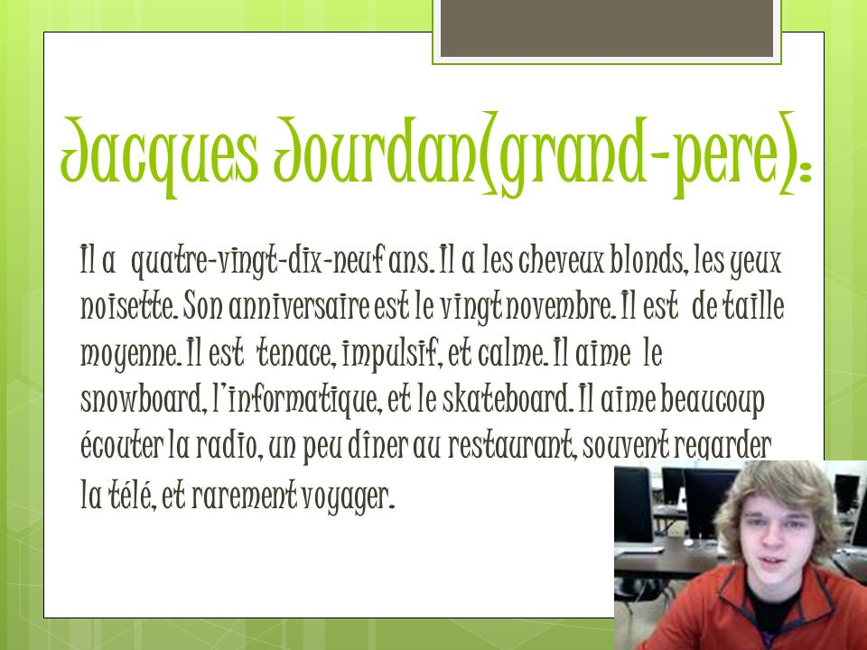 Jacques Jourdan(grand-pere):